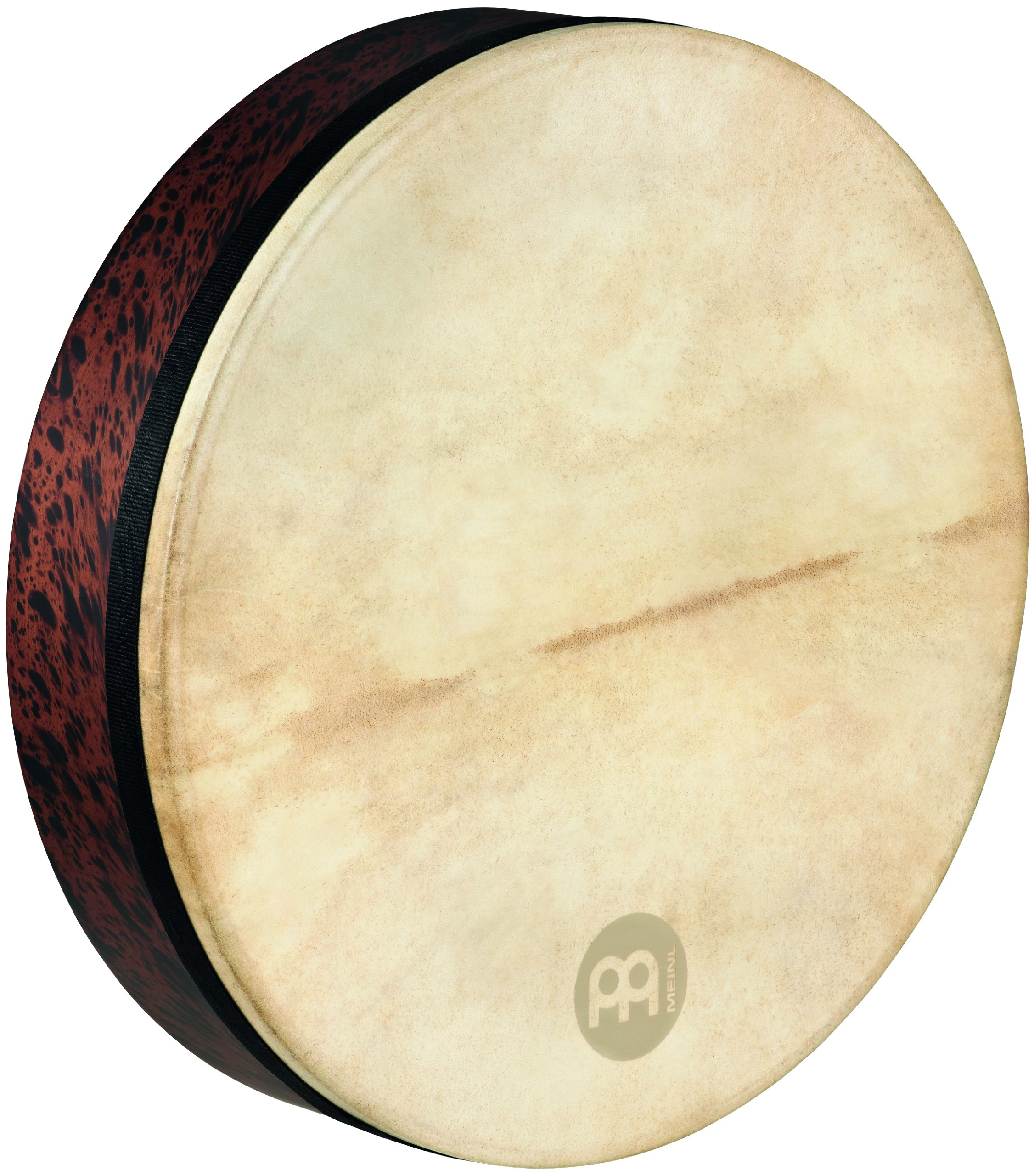 Meinl Percussion FD18T-D 18-Inch Mizhar With Goat Skin Head, African Brown