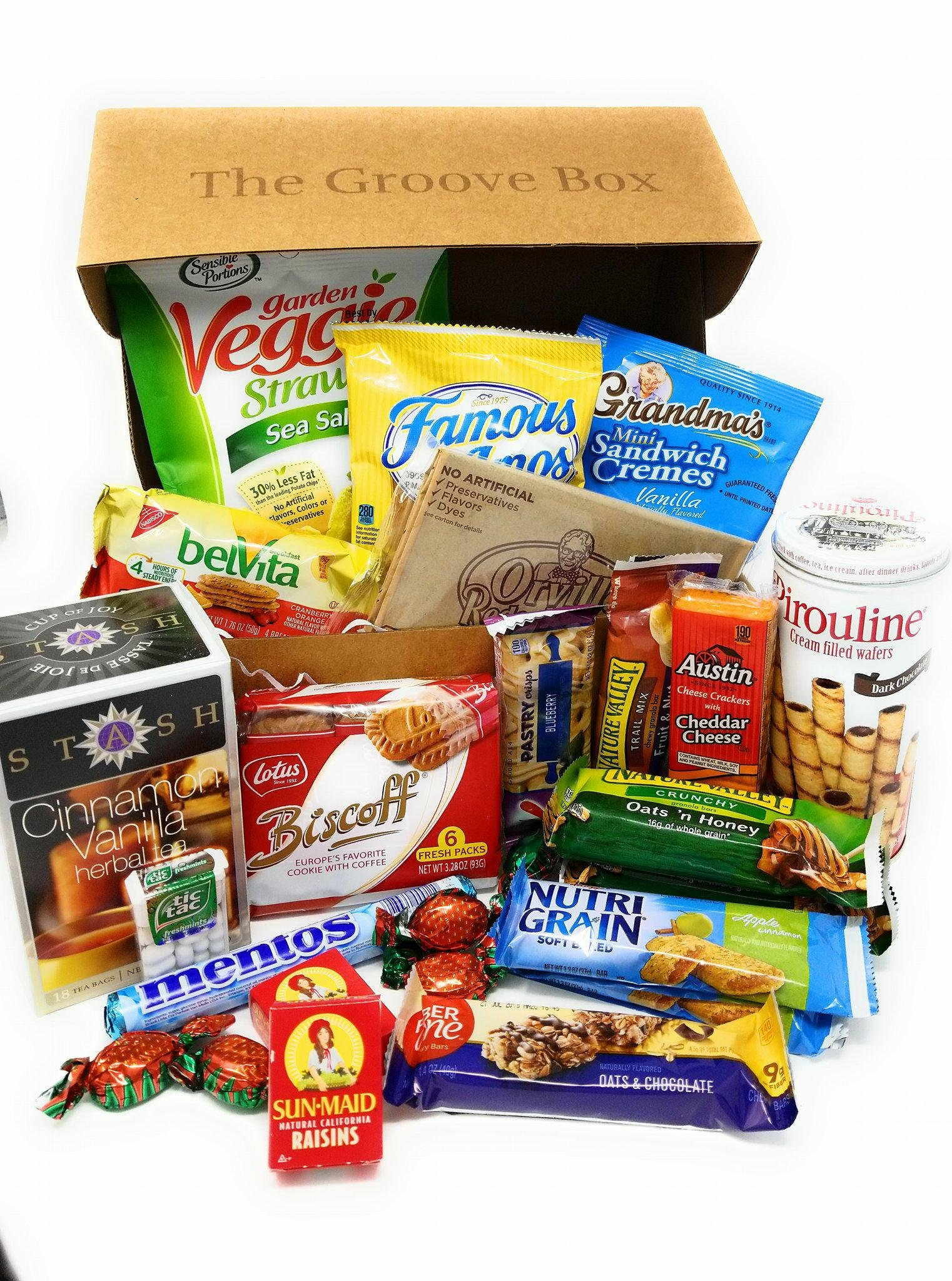 Groovy Gourmet Womens Care Package - Womens Snack Box - Gourmet Gift Basket - Thank You Gift - Appreciation Gift - Best Friend Gift - Congratulations Gift - Coworker Gift