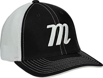 7d2707bdc9795f Amazon.com: Marucci M Logo Baseball/Softball Snap-Back Trucker Hat ...