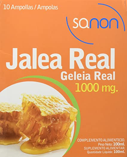Sanon Jalea Real, 10 Ampollas de 10 ml, 1000 mg