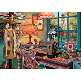 Ravensburger The Sewing Shed 1000 Piece Jigsaw Puzzle for Adults – Every Piece is Unique, Softclick Technology Means…