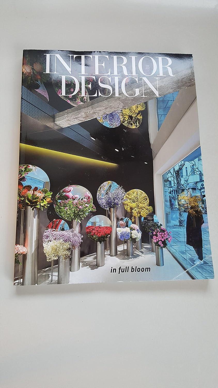Amazon Com Interior Design Homes Magazine June 2017 In Full Bloom Kitchen Dining