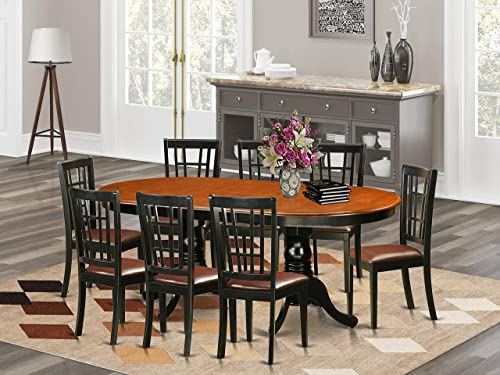 9 PC Dining room set-Dining Table