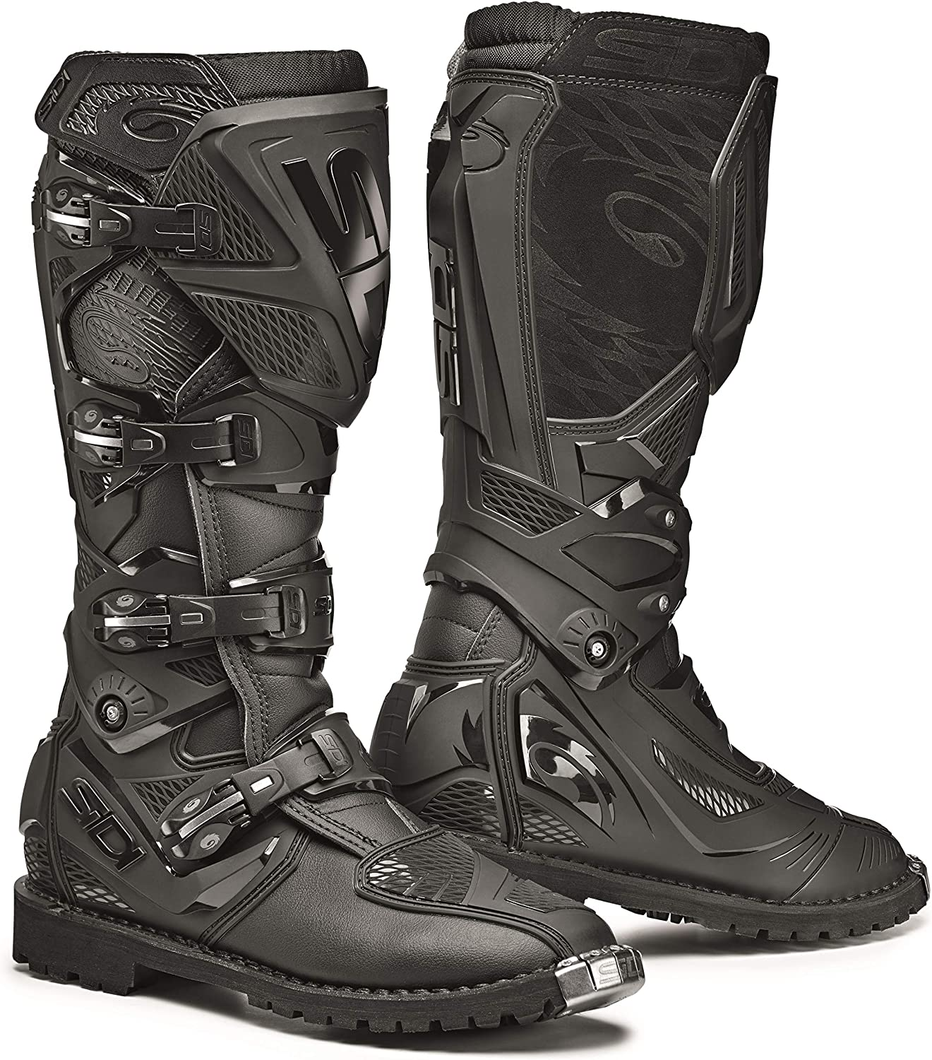 Sidi X-3 Enduro Motorcycle Boots Black, 8.5