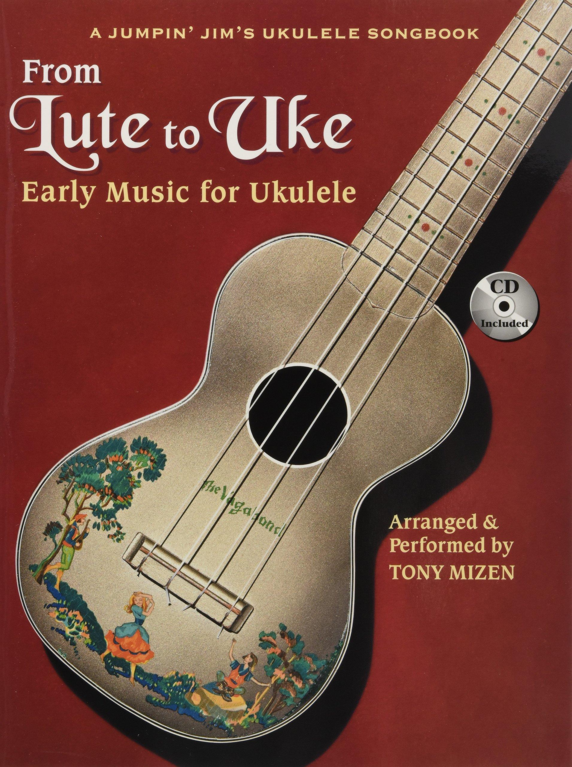 Amazon From Lute To Uke Early Music For Ukulele Bookcd