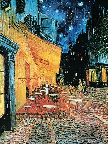 Amazon Com Terraza De Café Por La Noche De Vincent Van Gogh