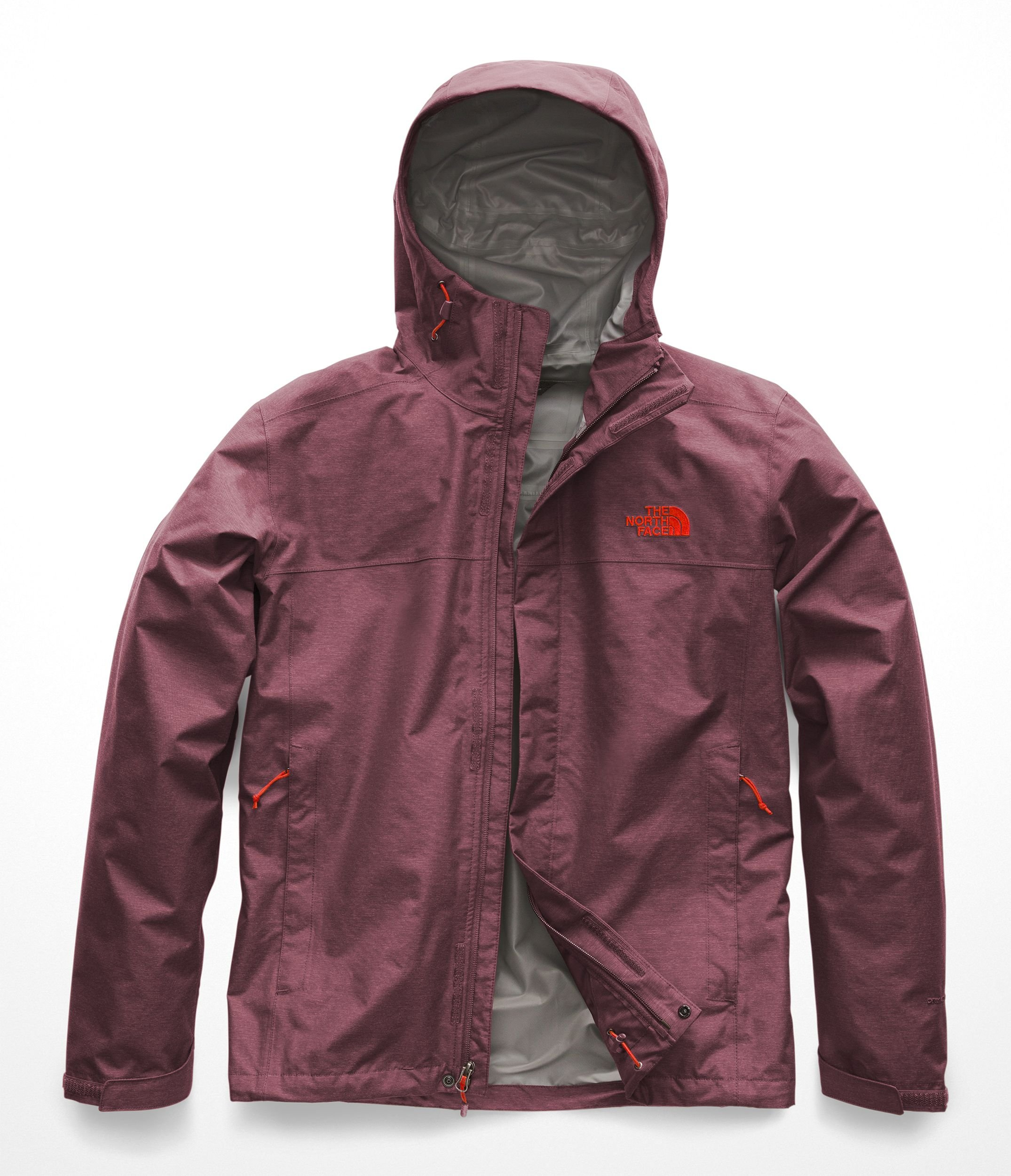 The North Face Men's Venture 2 Jacket - Fig Heather & Fig Heather - XL