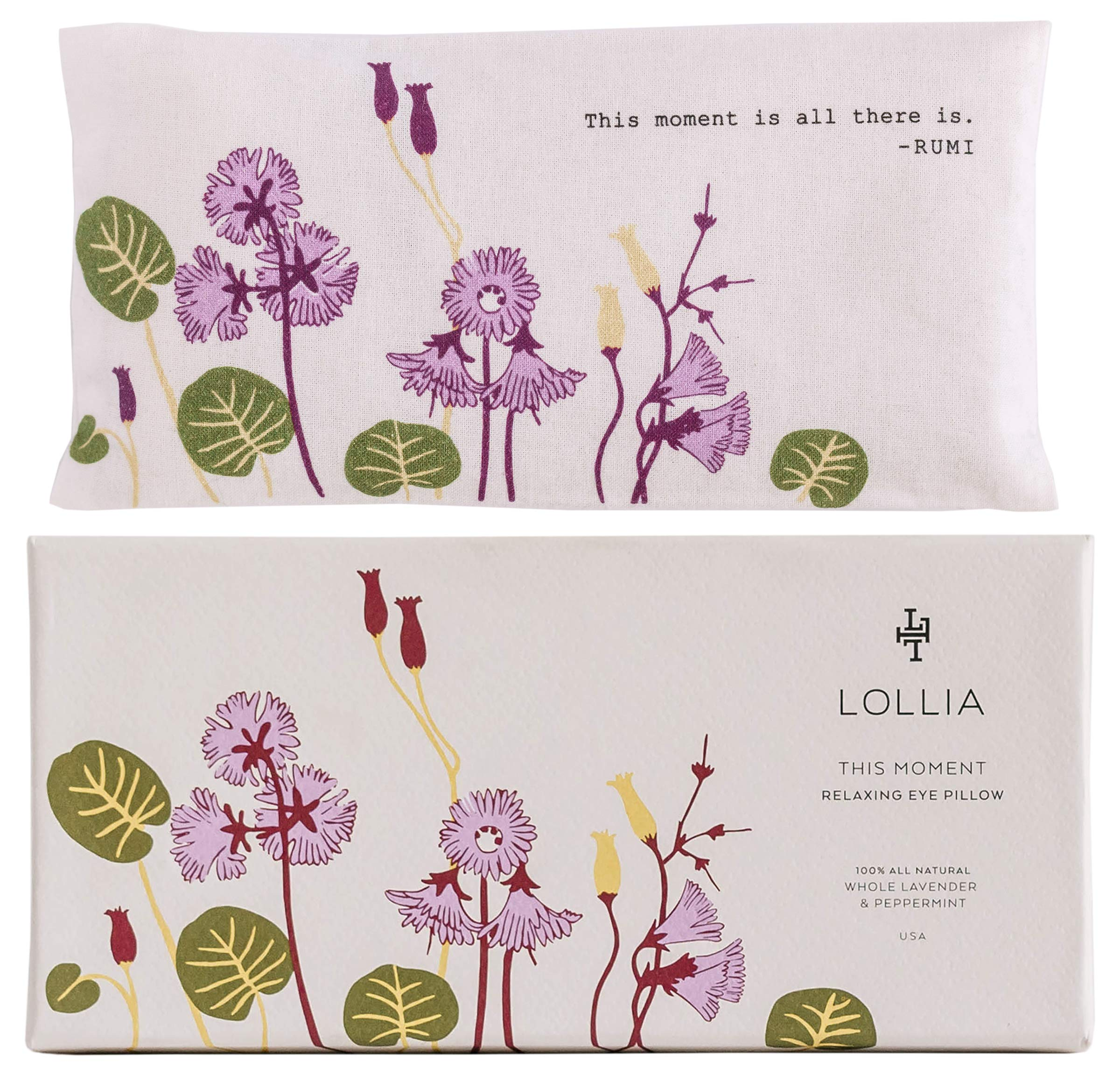LOLLIA This Moment Herb Eye Pillow by LOLLIA