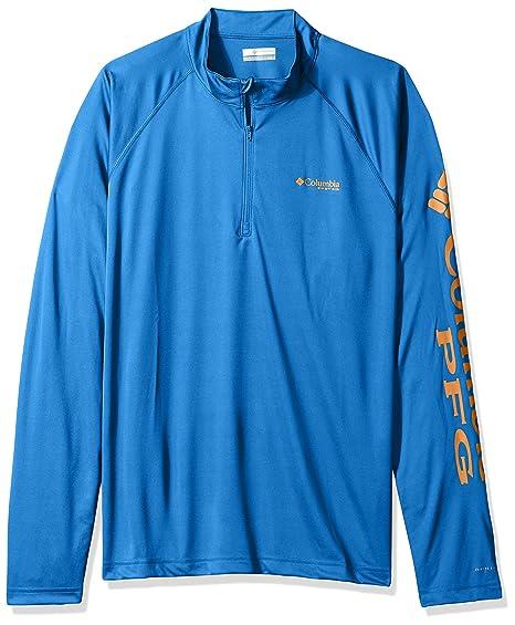 31a9399b65a Amazon.com: Columbia Men's Terminal Tackle 1/4 Zip: Clothing