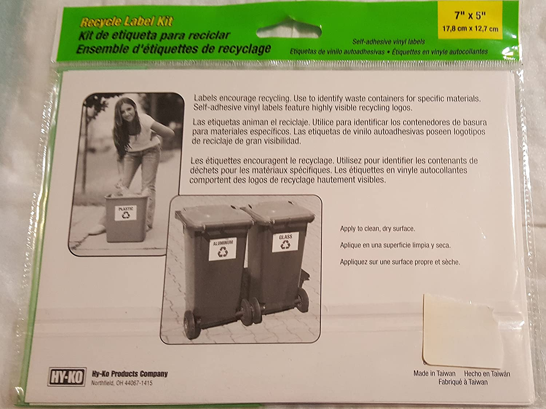 Amazon recycle sign kit office products buycottarizona Choice Image