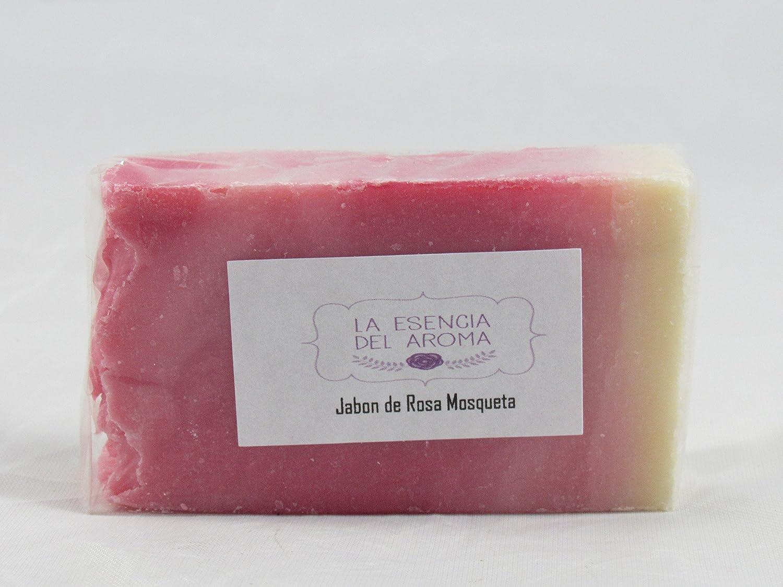 Jabon de Rosa Mosqueta Esencia del Aroma