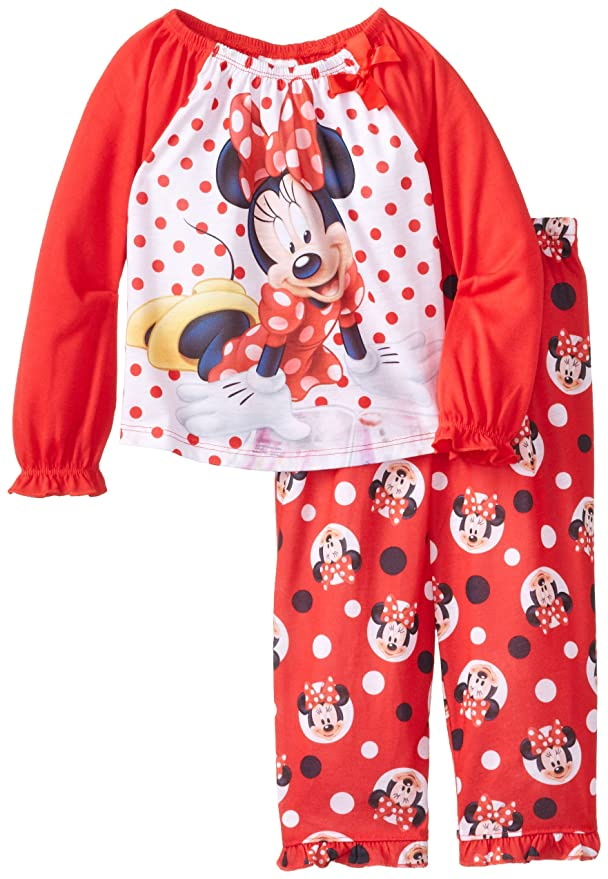 fa9d11e83 Disney Little Girls  Minnie Mouse Dots Sleep Set