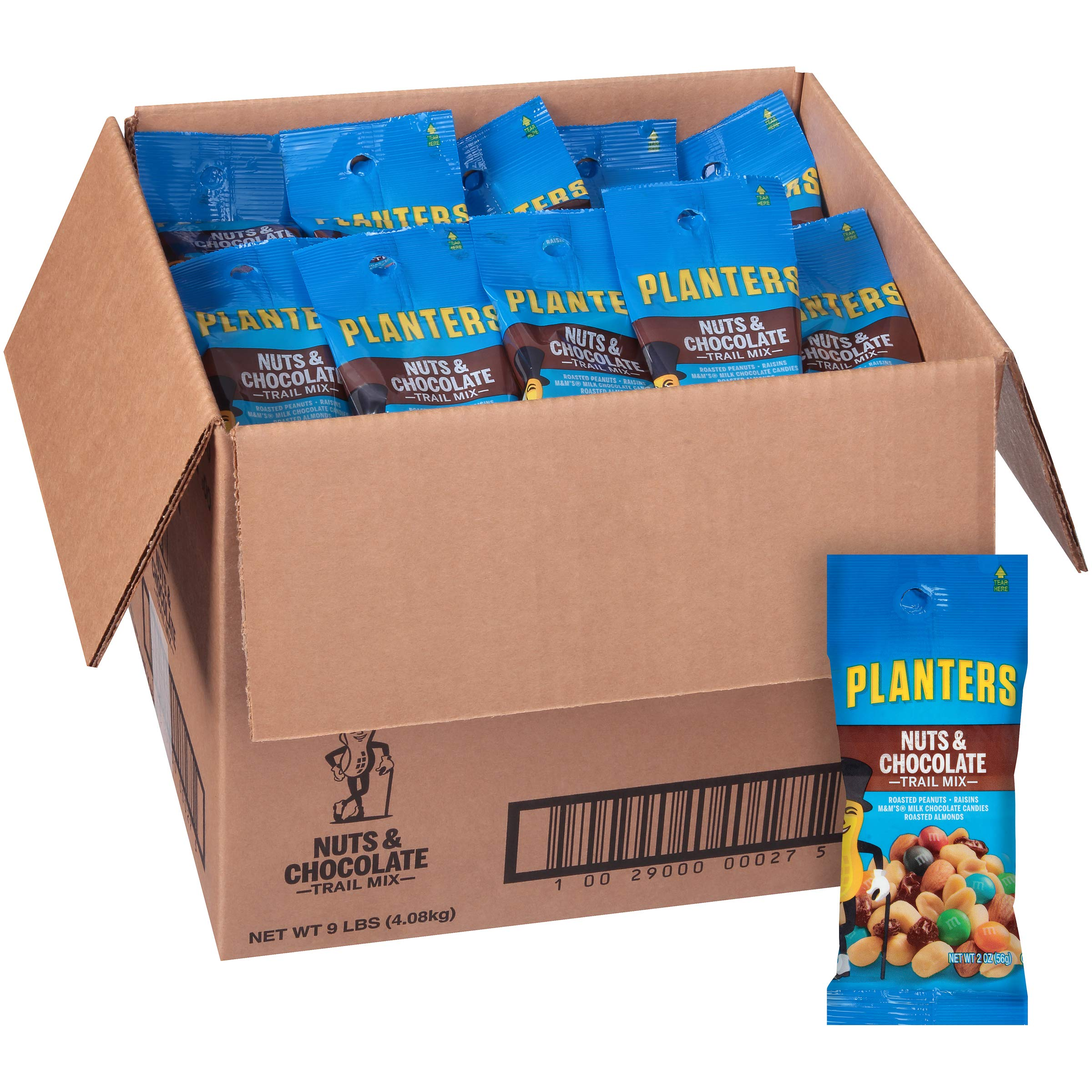 Planters Nuts & Chocolate M&M's Trail Mix, 2 oz Bag (Pack of 72) by Planters (Image #3)