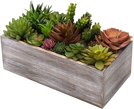"""Pack of 12 7.8/"""" Agave Plant Succulent Artificial Plants Decor Indoor Outdoor"""