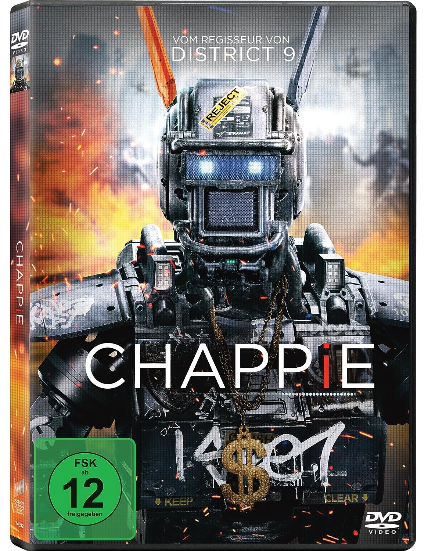 Chappie [DVD]: Amazon.es: Dev Patel, Hugh Jackman, Sigourney ...