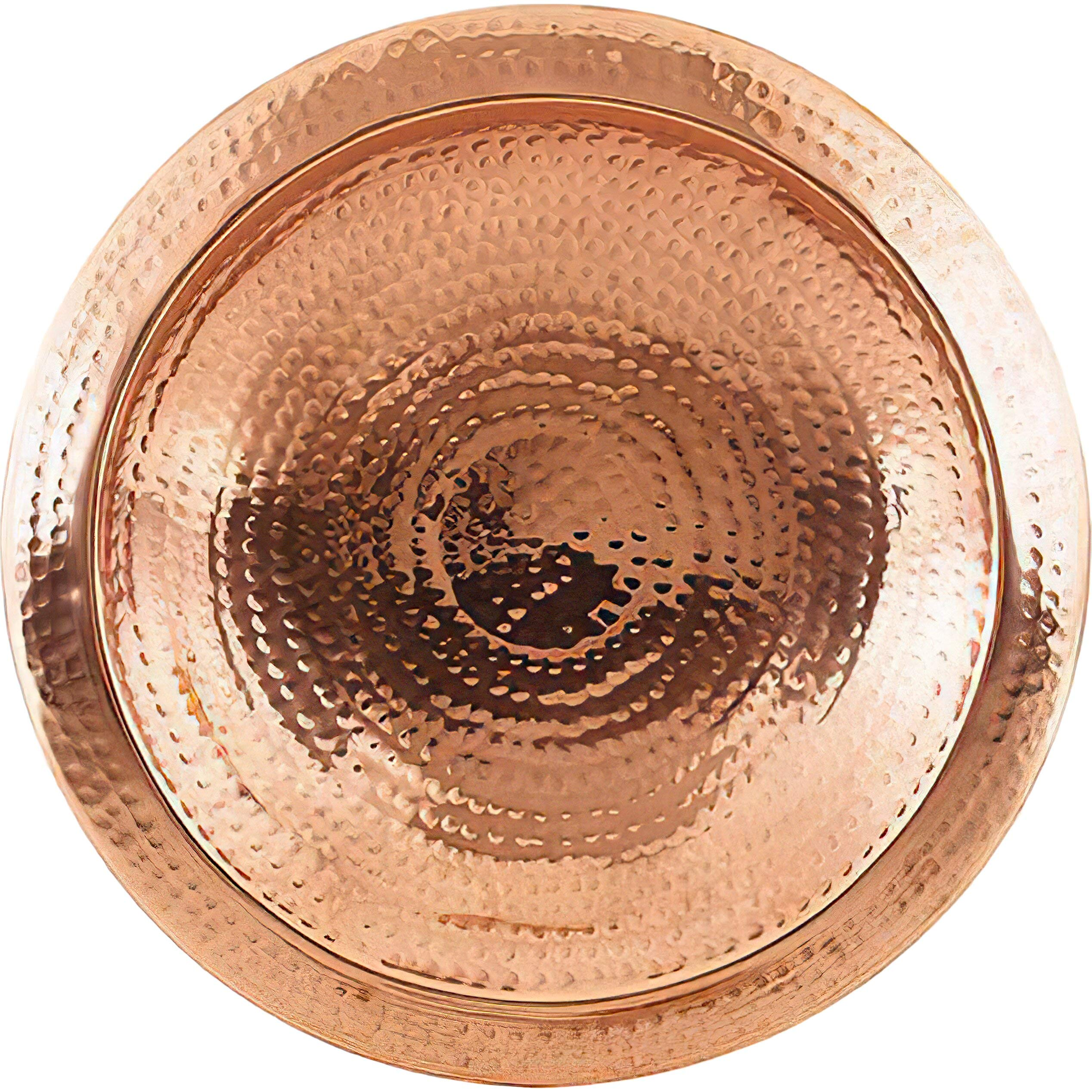 Achla Hammered Copper Bowl with Rim by Achla