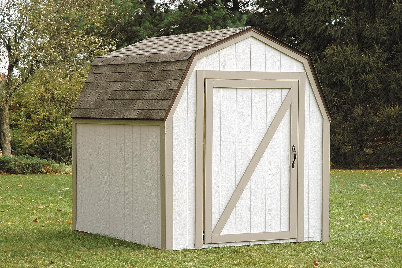 Amazon.com : Hopkins 90190 2x4basics Shed Kit, Barn Style Roof ...