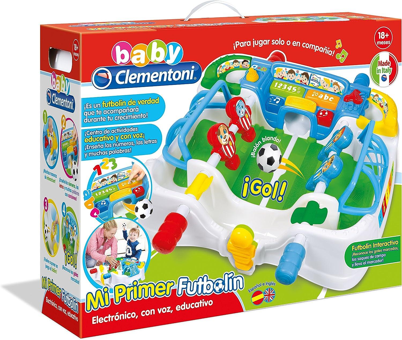 Amazon.es: Baby Clementoni Fermín, mi Primer futbolín (55177.4)