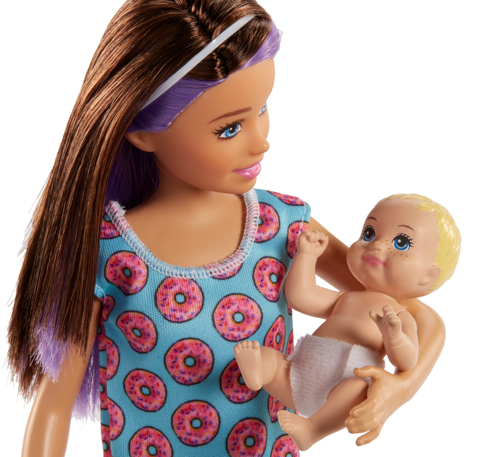 Barbie Skipper Babysitters Inc. Doll and Feeding Playset by Barbie (Image #6)