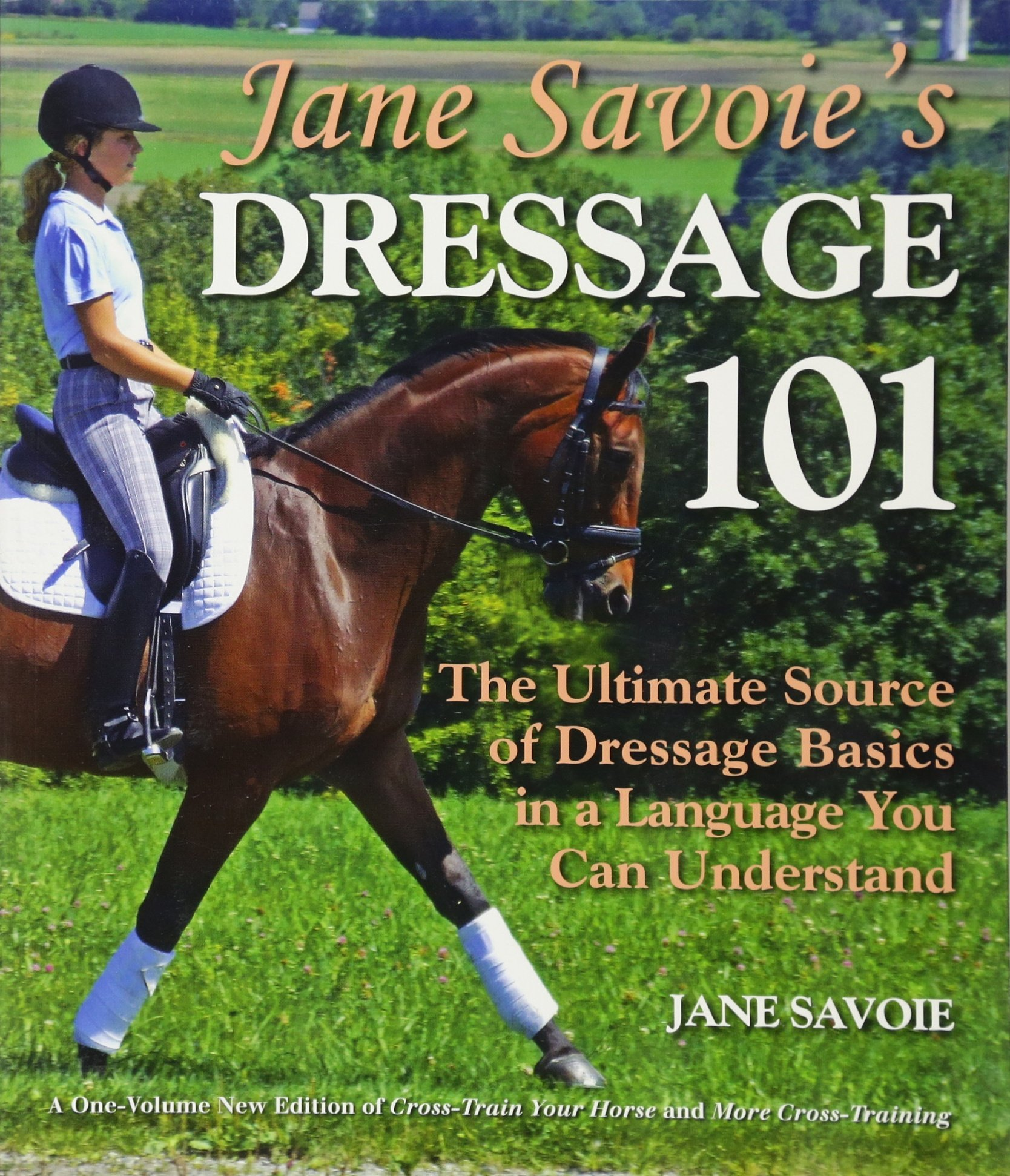 Jane Savoie's Dressage 101: The Ultimate Source of Dressage Basics in a Language You Can Understand