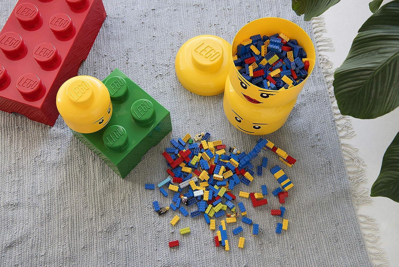 Yellow LEGO Girl Storage Head
