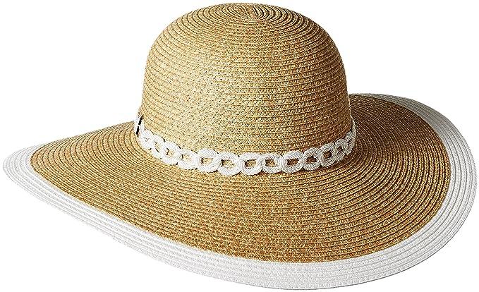 105cbc022 Amazon.com: Genie by Eugenia Kim Women's Cecily Wide Brim Hat, Camel ...