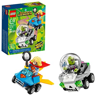 LEGO DC Super Heroes Mighty Micros: Supergirl vs. Brainiac 76094 Building Kit (80 Piece): Toys & Games