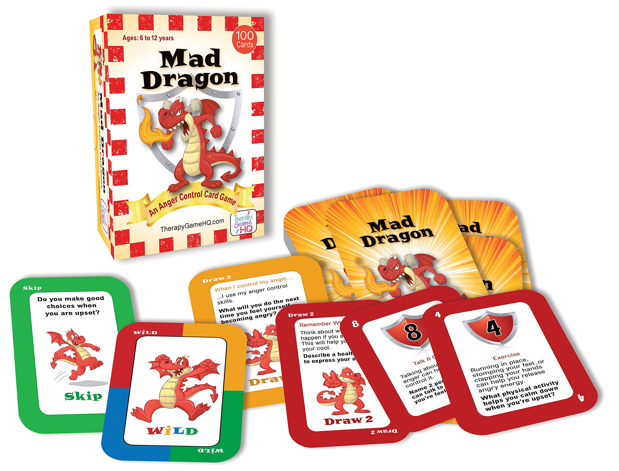 Mad Dragon: An Anger Control Card Game