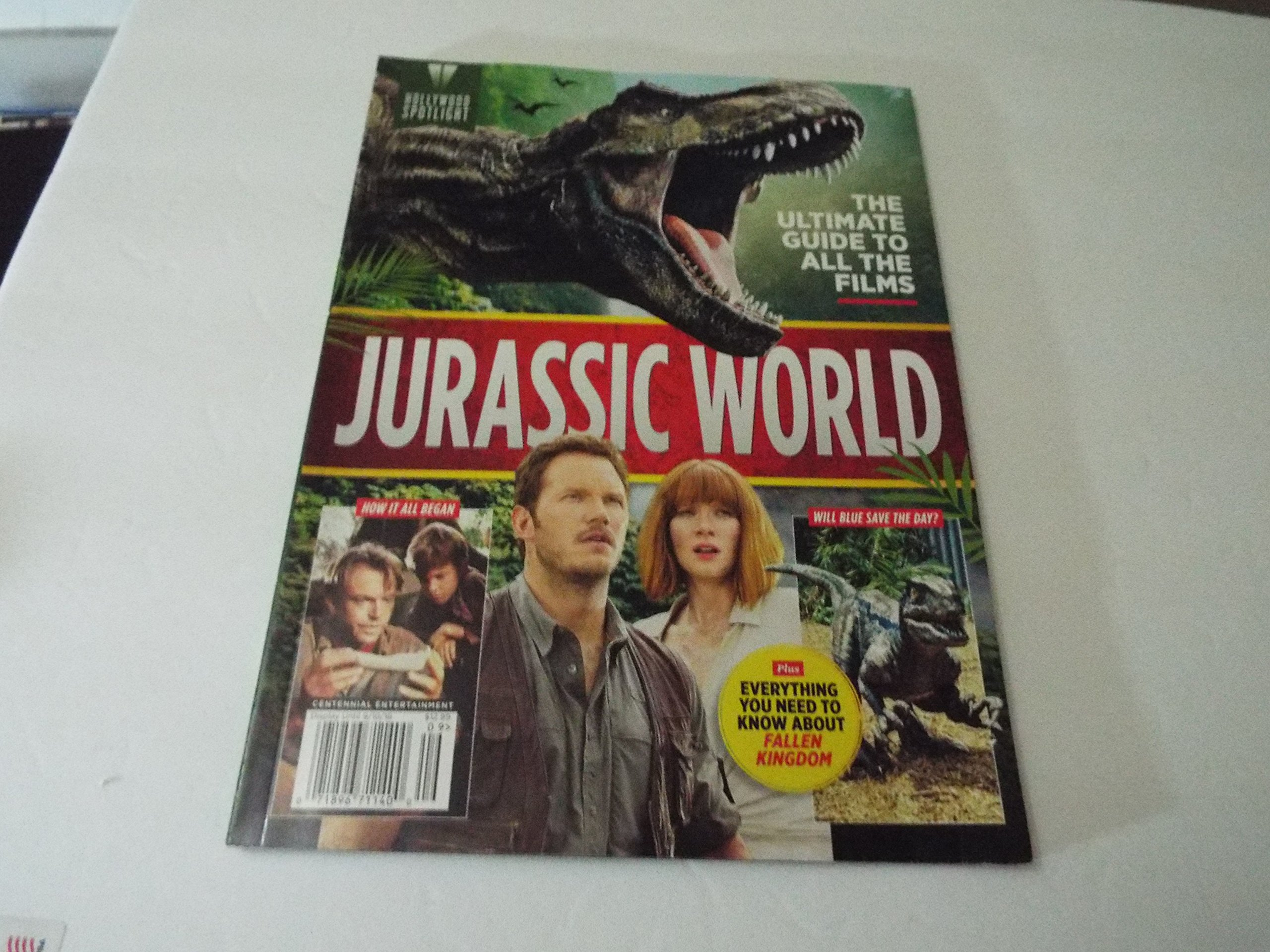 Hollywood Spotlight Magazine 2018 Ultimate Guide to all the films JURASSIC WORLD ebook