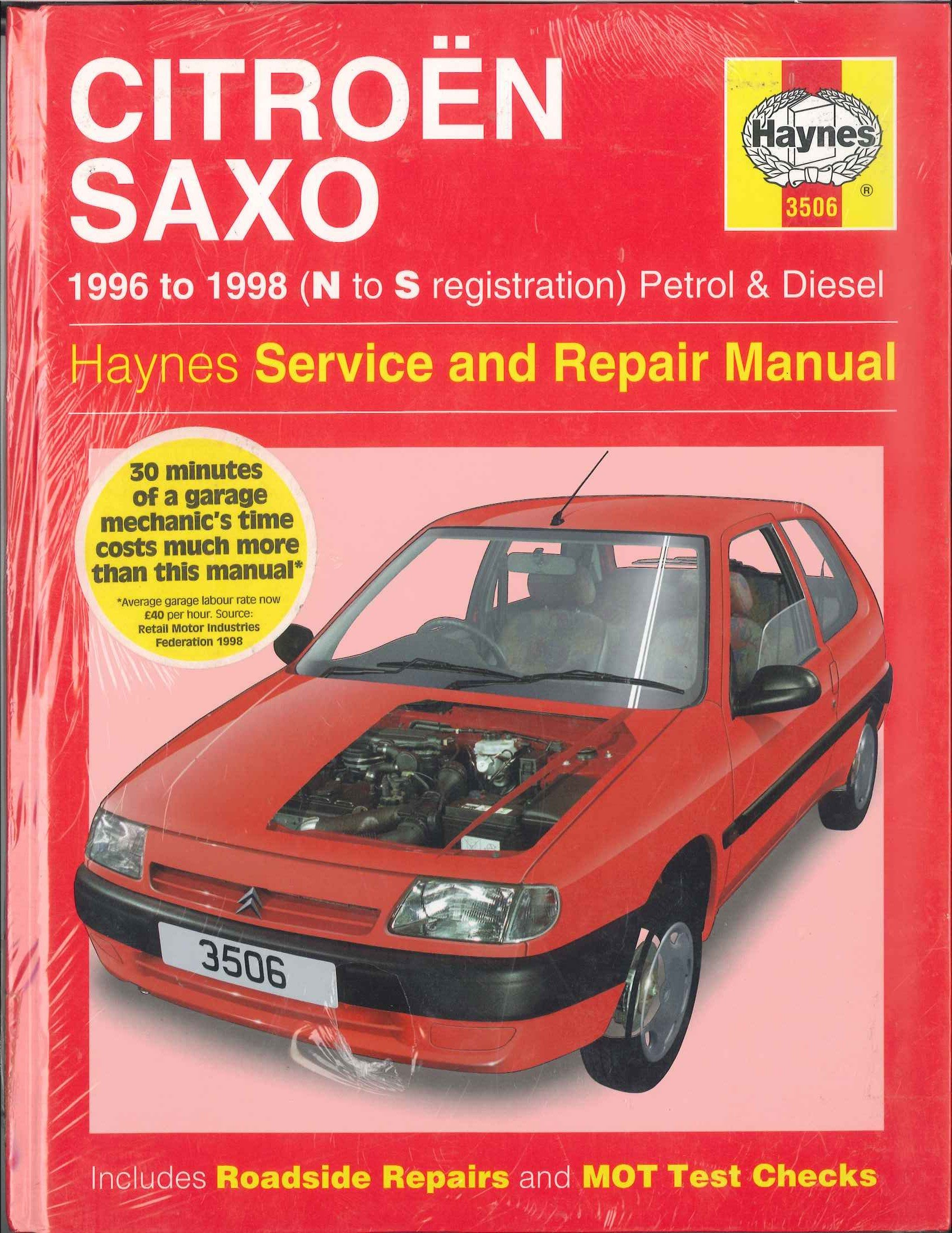 Citroen Saxo (1996 to 1998, N to S reg) Service and Repair Manual:  Amazon.co.uk: Spencer Drayton, R. M. Jex: 9781859605066: Books