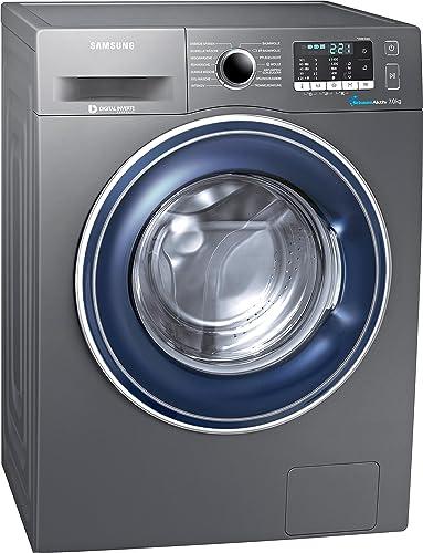 Samsung WW70J5435FXEG Waschmaschine FrontladerA+++1400 UpM7kg85 cm HöheDigital Inverter Motorgrau