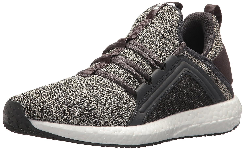 PUMA Women's Mega Nrgy Knit Wn Sneaker B072R2SNRF 8 B(M) US|Pebble-asphalt-puma White
