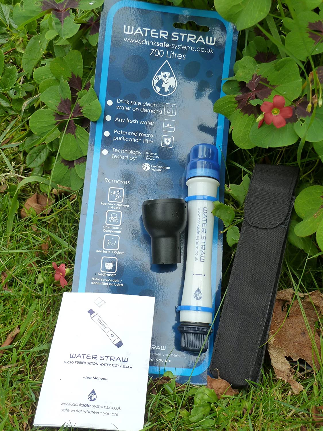 NEW 2019 Drinksafe Waterstraw 700 litre Personal pure water filter