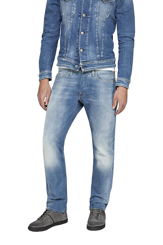 TALLA 32W / 32L. Replay Waitom, Jeans Hombre