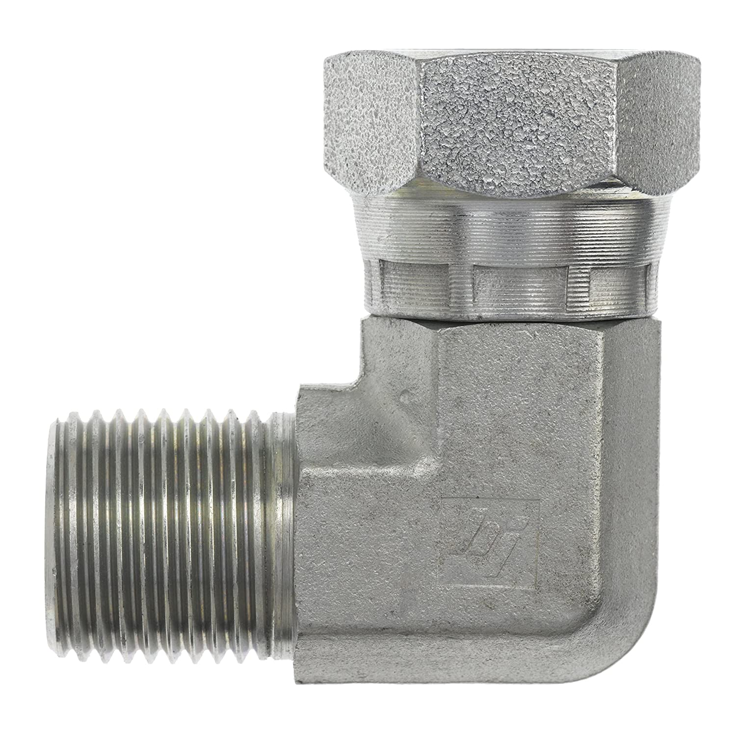 Gas Qty 05 WOG Water AIR Oil EDGE INDUSTRIAL 5//8 Hose ID to 3//8 Male NPT MNPT 90 Degree Elbow Brass Fitting Fuel