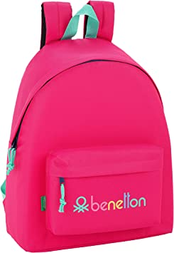 Day Pack Infantil Benetton UCB Rubine Red Oficial 330x150x420mm ...
