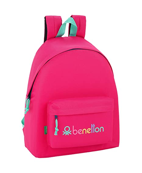 Day Pack Infantil Benetton UCB Rubine Red Oficial 330x150x420mm