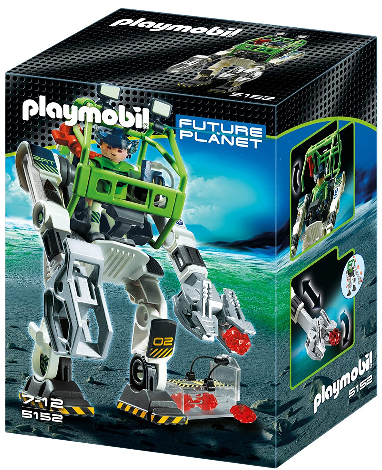 Raumschiff Spielzeug Playmobil E-Rangers Collectobot