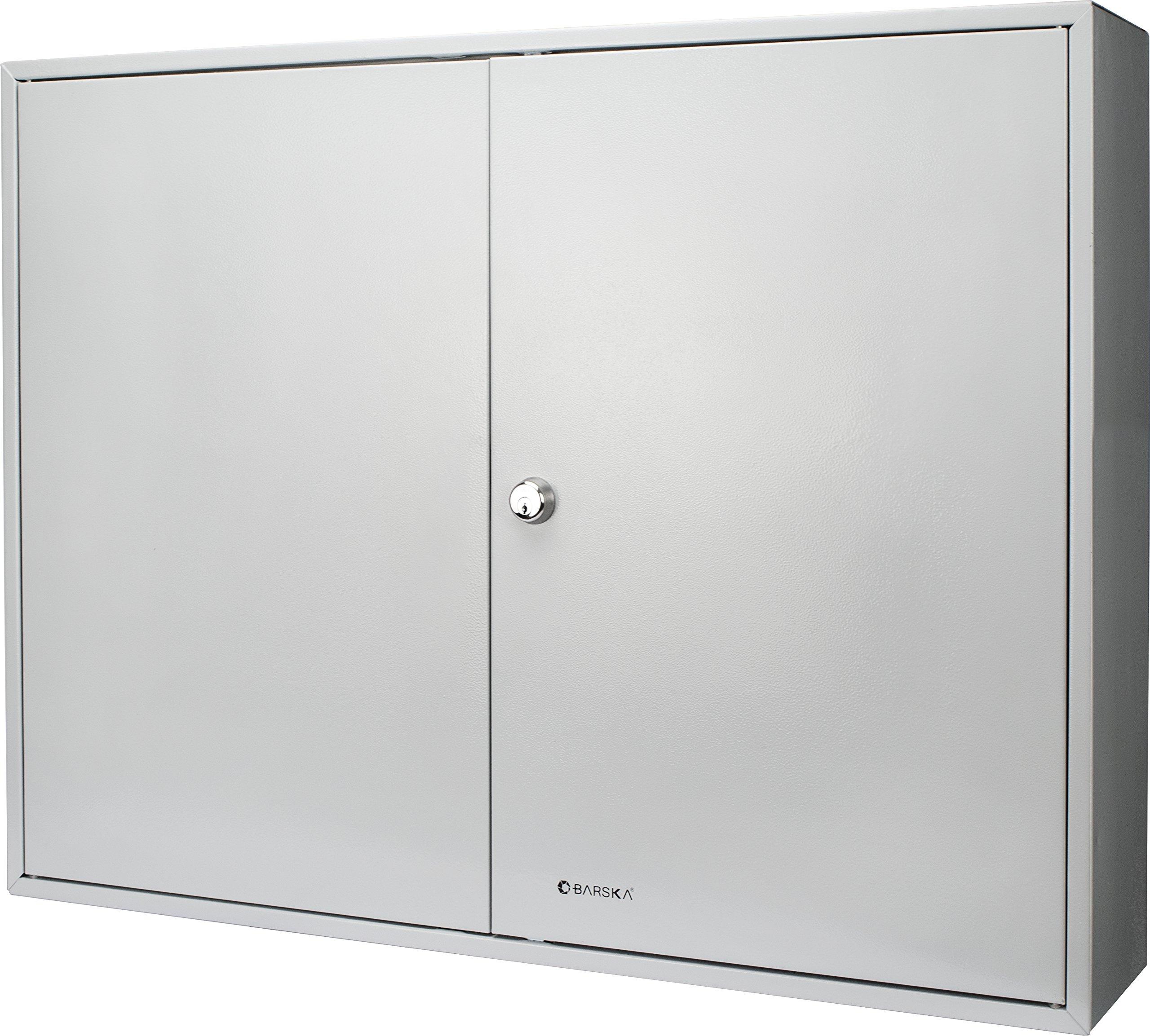 Barska Large Key Cabinet with Key Lock (400 Position Key Cabinet)