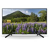 Sony 55 Inch 4K HDR Ultra HD Smart TV with Freeview Play, Black (2018 Model)