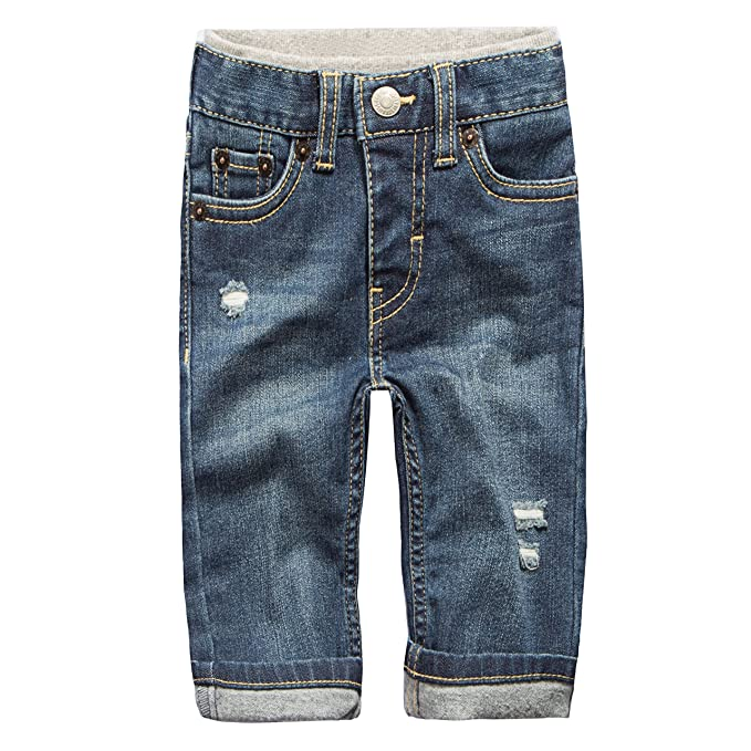Levi's Baby Boys' Straight Fit Jeans, PCH, 12M best baby jeans
