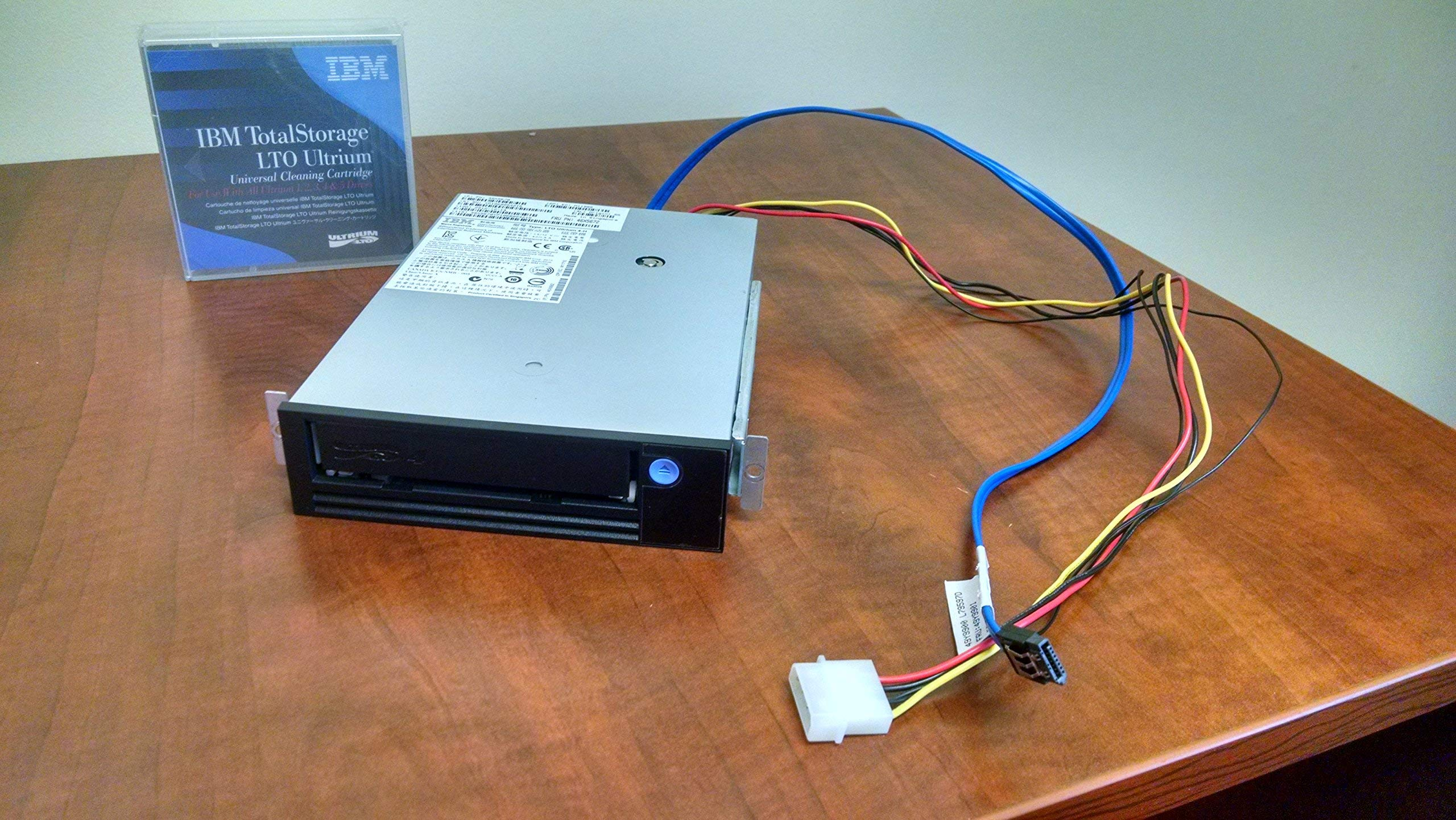 IBM 46X5672 800/1600GB ULTRIUM LTO-4 HH, INTERNAL, SAS, Refurb (Renewed)