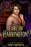 Earl of Harrington: Wicked Earls' Club (Bluestockings Defying Rogues Book 1)