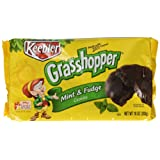 Keebler Fudge Shoppe Grasshopper (Mint) Cookies, 10-Ounce Packages (Pack of 6)