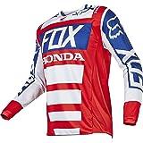 Fox Racing 180 Honda Men's Off-Road Motorcycle Jerseys - Red/White