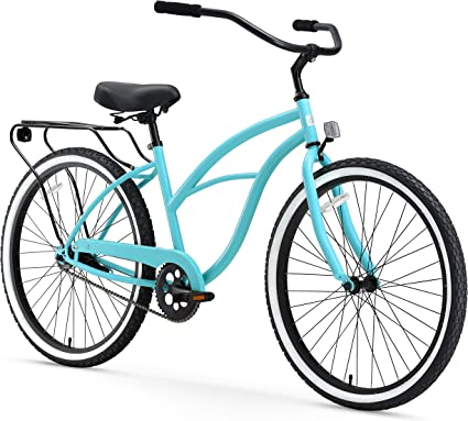 sixthreezero Around The Block Bicicleta Cruiser para Mujer (61 cm ...