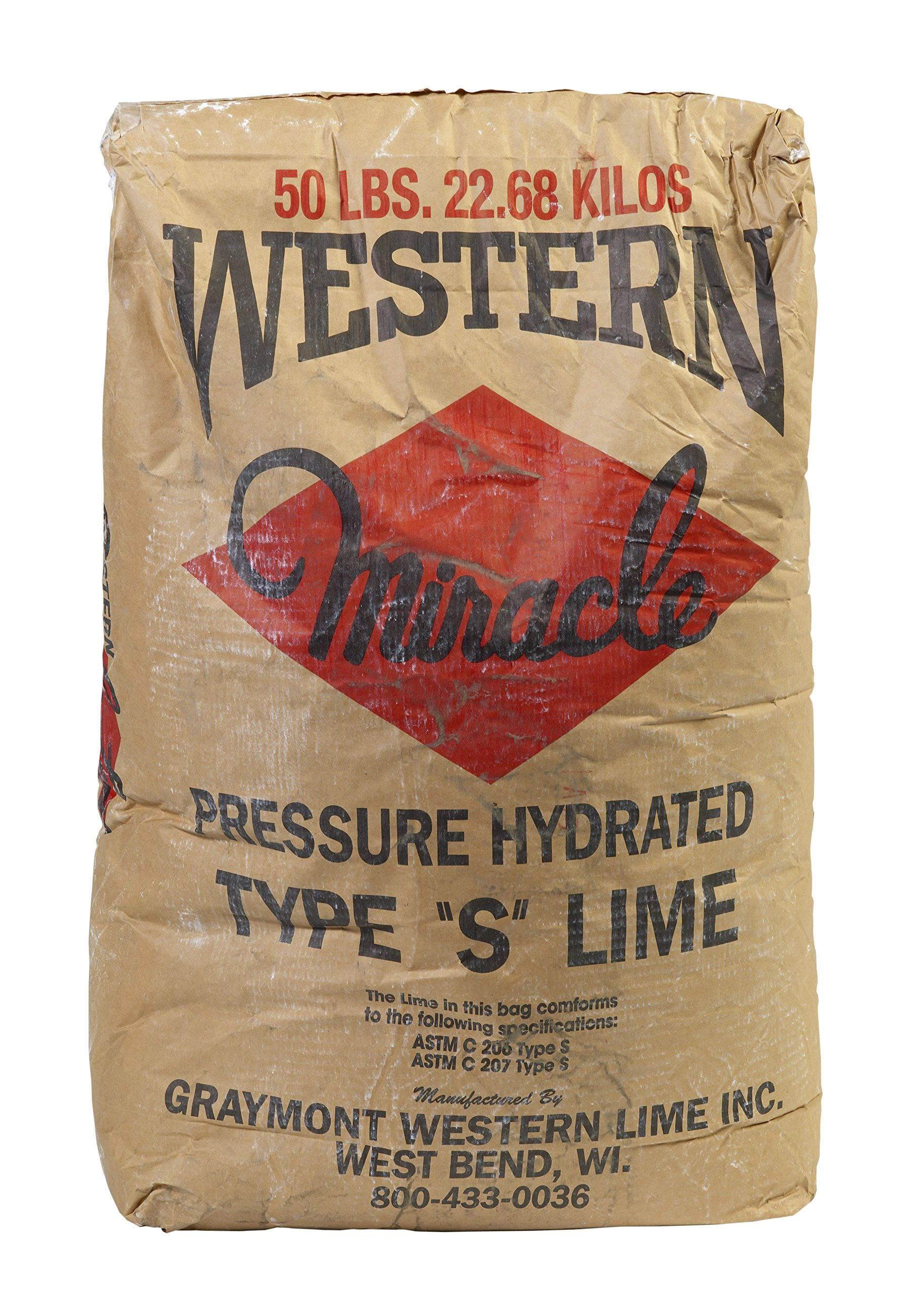 Mutual Industries 7094-0-0 Western Hydrated Lime for Masonry Work