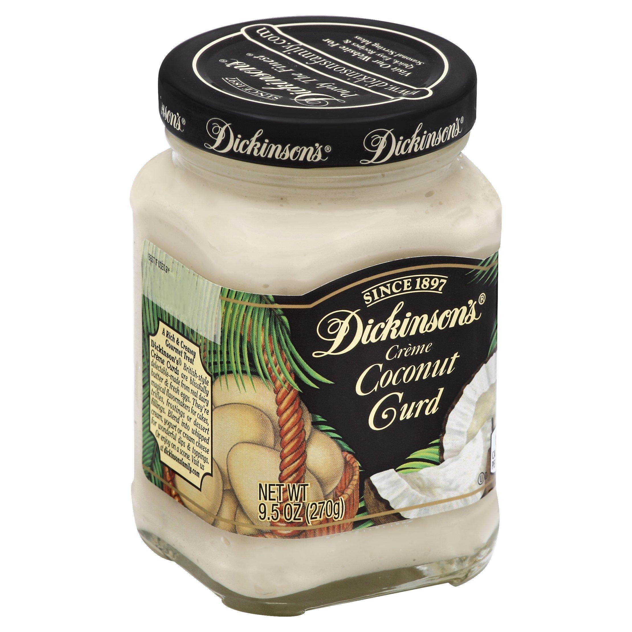 Dickinson's Coconut Curd, 9.5 oz