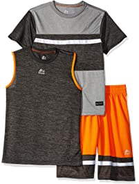finest selection 42b39 98f46 RBX Boys 3 Piece Performance Top, Tank and Short Set