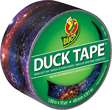 Pack of 5 Duck Duct Tape 1.88 Inches x 20 Yards 1 ea Black